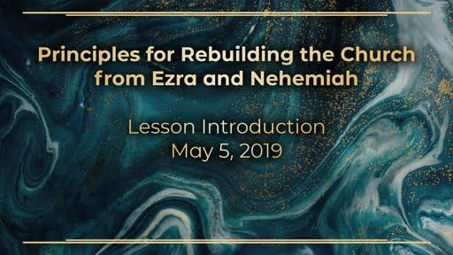 Rebuilding the Church Series