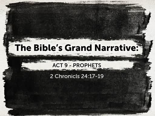 Act 9 - Prophets