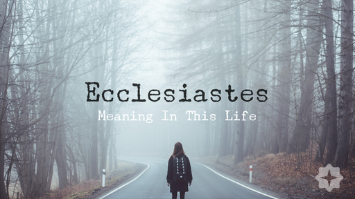 Utterly Futile - Ecclesiastes Chapter 1