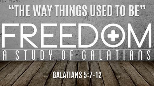 """The Way Things Used To Be"" 