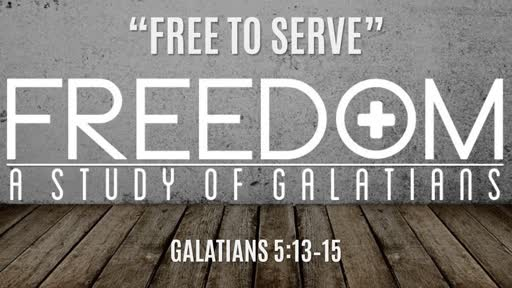 """Free To Serve"" 
