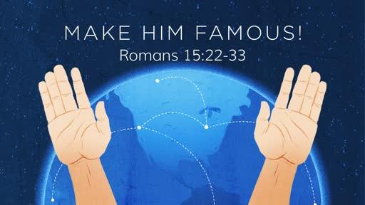 Romans 15:22-33