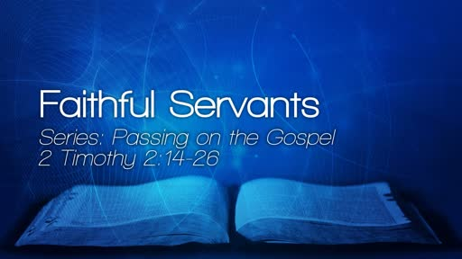 Passing on the Gospel