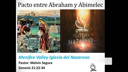 May 9, 2019 Spanish Pacto entre Abraham y Abimelec
