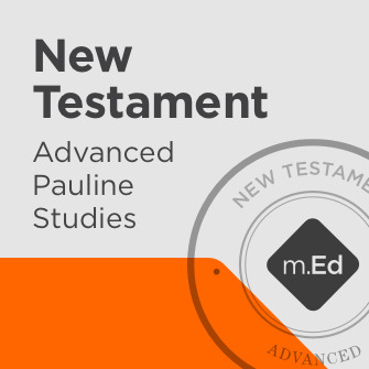 New Testament: Advanced Pauline Studies Certificate Program