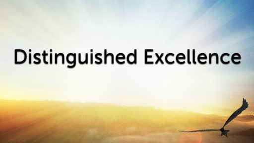 Distinguished Excellence
