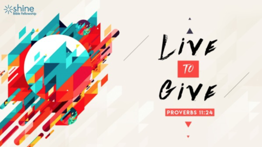 LIve To Give: Part 3