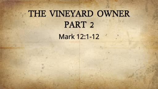 The Vineyard Owner Part 2