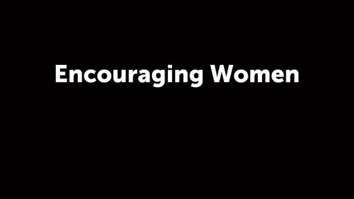 Encouraging Women