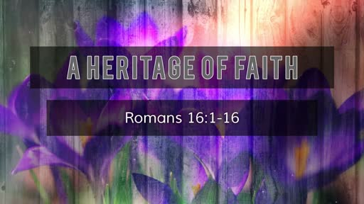 Romans 16:1-16