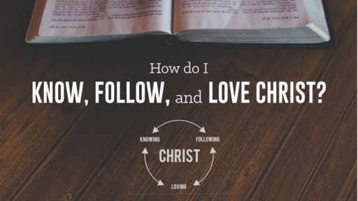 How Do I Know, Follow, and Love Christ?