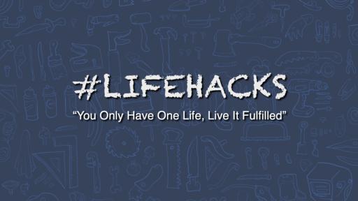 """2019-05-15 #LifeHacks: """"Fulfilled in God's Will"""" - James Miller, Jr"""