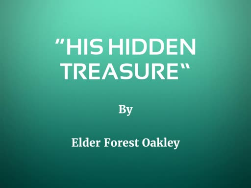 """His Hidden Treasure"""