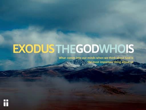 Exodus 3-4:31 God: visitor to people