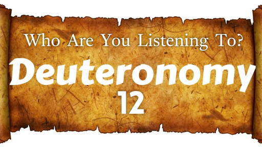 May 19, 2019 - Who Are You Listening To?