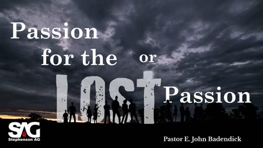 A Passion For The Lost, Or A Lost Passion?