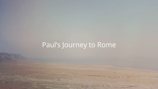 Paul's Journey to Rome