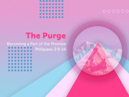 The Purge: Becoming a Part of the Miracle