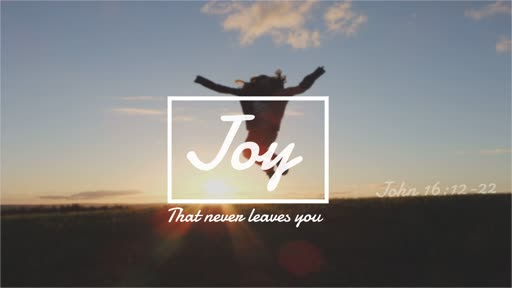 Joy That Never Leaves You