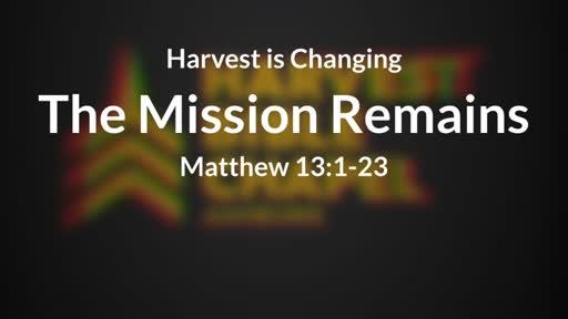 Harvest Changes