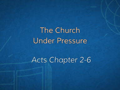 The Church Under Pressure