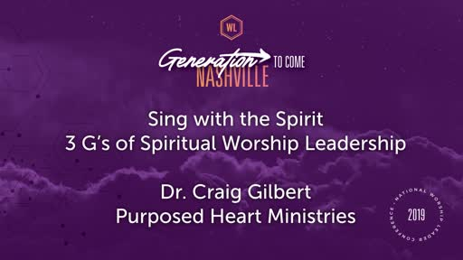 Craig Gilbert-Sing with the Spirit