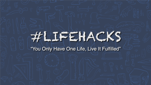 2019-05-22 #LifeHacks