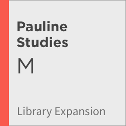Logos 8 Pauline Studies Library Expansion, M