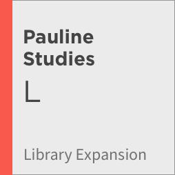 Logos 8 Pauline Studies Library Expansion, L