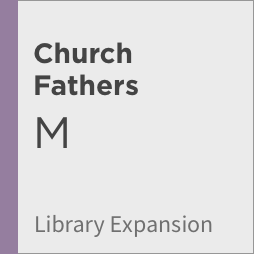Logos 8 Church Fathers Library Expansion, M