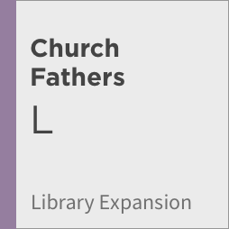 Logos 8 Church Fathers Library Expansion, L