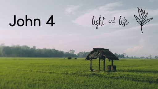 26 May 2019 AM - John 4:1-26