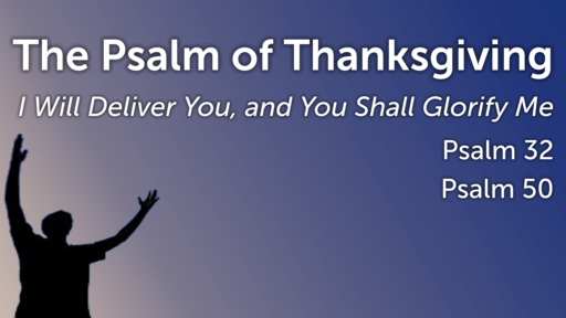 The Psalms of Thanksgiving