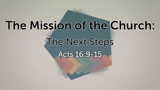 Mission of the Church: The Next Steps Intro