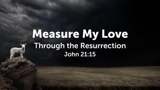 Measure My Love