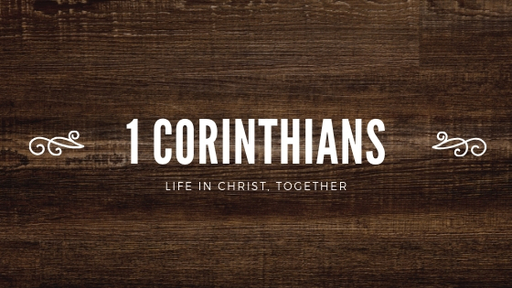 Locating Our Identity in Christ | 1 Corinthians 1:1–3