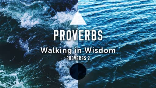 2019-05-26 Walking in Wisdom - Proverbs - Pastor Mike