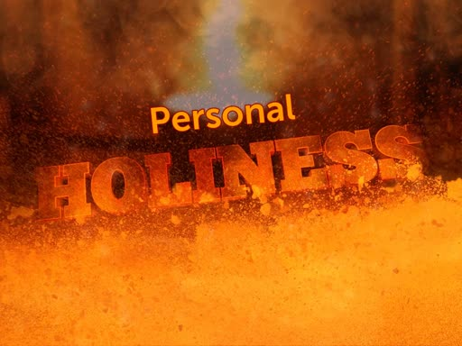 Personal Holiness