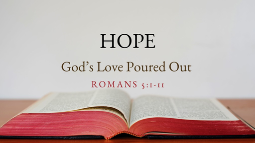 God's Love Poured Out