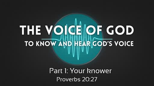 The voice of God Part 1b: Your knower
