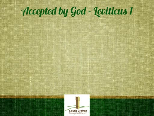 Leviticus 1