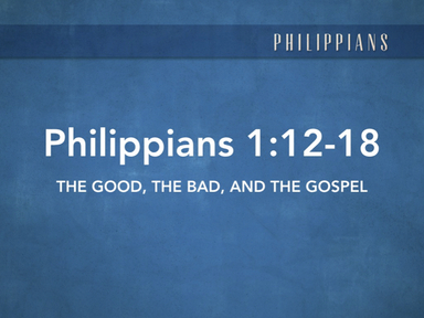 The Good, The Bad, and The GOSPEL