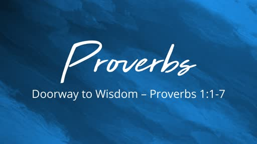 A Study of Proverbs