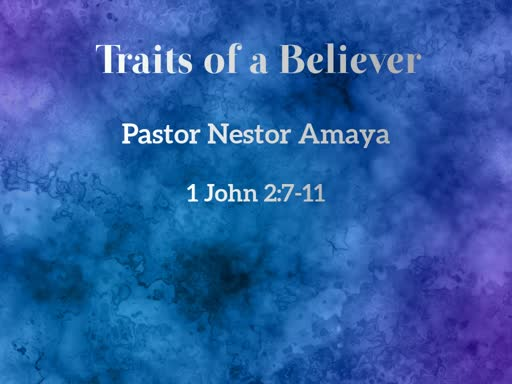 June 2, 2019 - Traits of a Believer