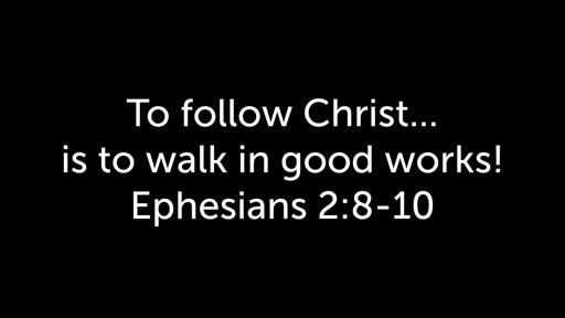 June 2, 2019 - Grace and Good Works