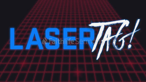 Laser Tag Blue
