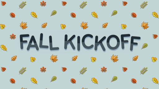 Fall Kickoff Blue