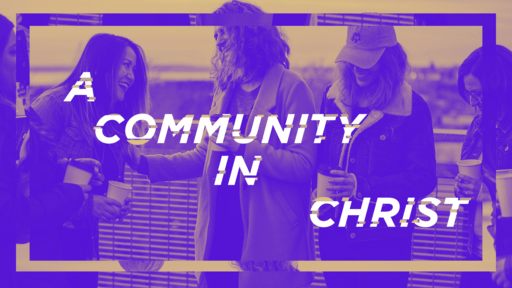 A Community In Christ Purple