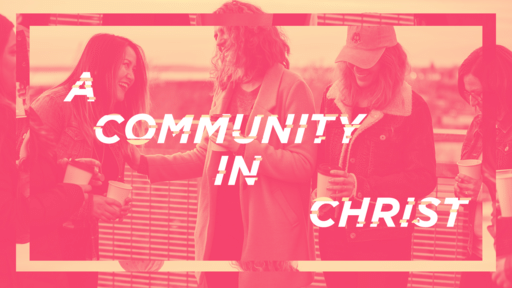 A Community In Christ Pink
