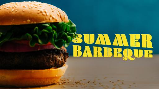 Summer Barbeque Burger